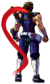 NewStrider Hiryu artwork back