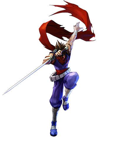 File:Namco X Capcom - Strider Hiryu.jpg