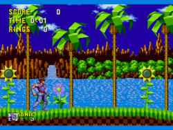 Strider Hiryu in Sonic 1 (v0.01)