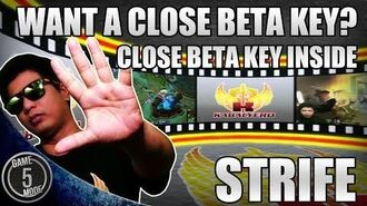 Strife * Who Wants A Close Beta Key? Close Beta Key Inside