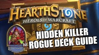 "Rogue ""Stealth"" Deck Guide - Hearthstone"