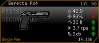 SFH2 Beretta Px4