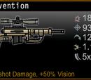 Intervention Sniper Rifle