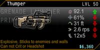 Thumper Grenade Launcher