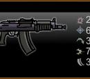 AKS 74 SMG