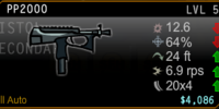 PP2000 Pistol