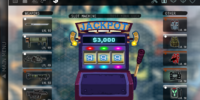 Shop and Slot Machine