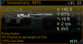 Incendiary R870.