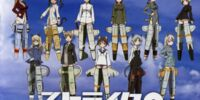 """STRIKE WITCHES 2 Ending Theme Collection """"Over Sky"""""""