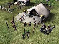 Mercenary tent