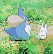 Blå Totoro