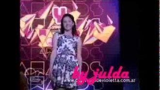 Violetta2--Francesca canta Nel Mio Mundo Cap75