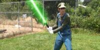 Luigi's Beam Sword