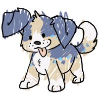 Ruffie scribble