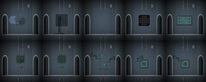 Level x map