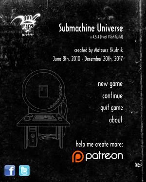 Menu subverse