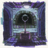 Watercolor one arm portal