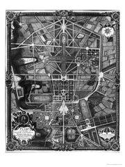 Gardens of Versailles map