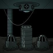 Defense system entrance