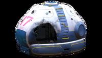 Destroyed Lifepod 3 Transparent