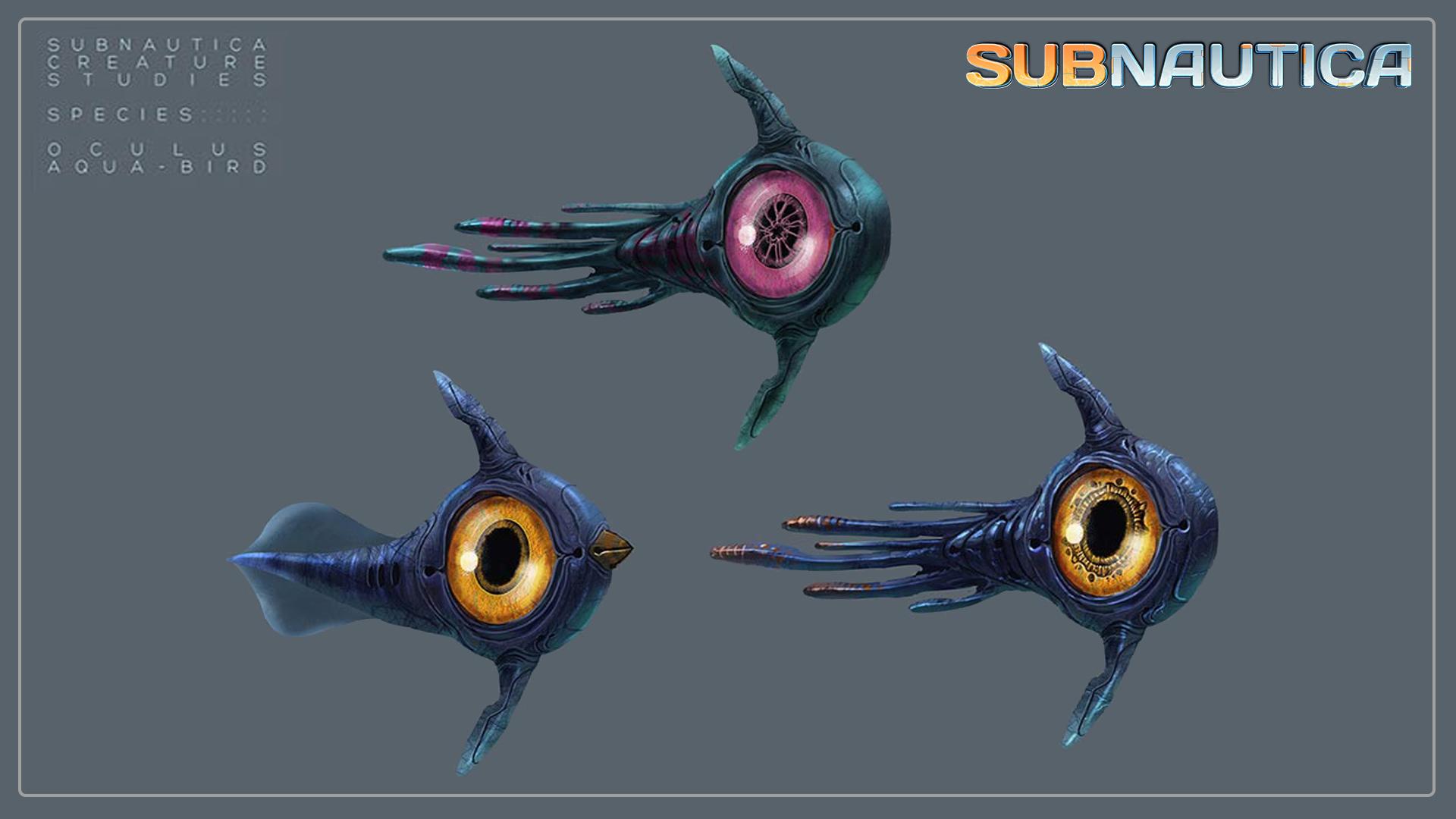Image - Oculus & Peeper Concept Art.jpg | Subnautica Wiki | Fandom ...