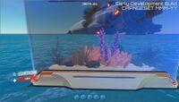 Aquarium with deco in game