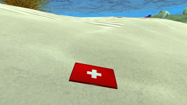 File:First aid kit on the seabed.jpg