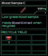 Blood Sample C