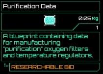 Purification Data