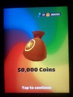 50,000 Coins