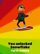 UnlockedBoardSnowflake