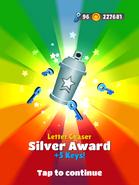 AwardSilver-LetterChaser