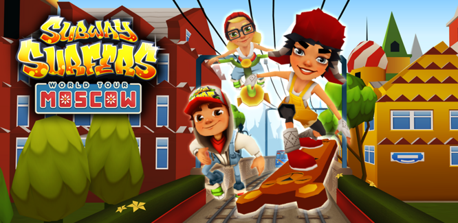 Moscow Subway Surfers