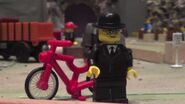 Percival with Bike