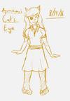 Agunachopace's Cat's Eye Sketch