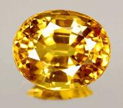 Gold sapphire gem 1