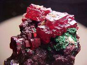 Cuprite gemstone