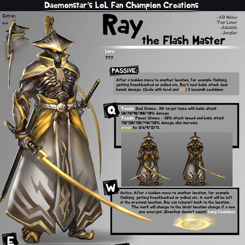 Ray concept art