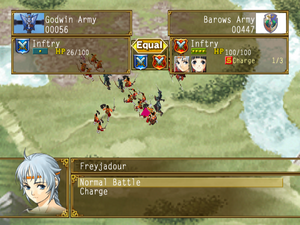 Suikoden V Army Battle