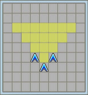 Giant Sword Attack Formation