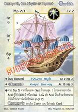 Caelnavis, the Airship of Prophet