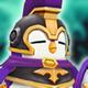 Penguin Knight (Dark) Icon
