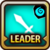 Leader Skill Attack Power (Low) Water Icon