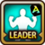 Leader Skill Health Point (Low) Arena Icon