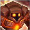 Golem (Fire) Icon