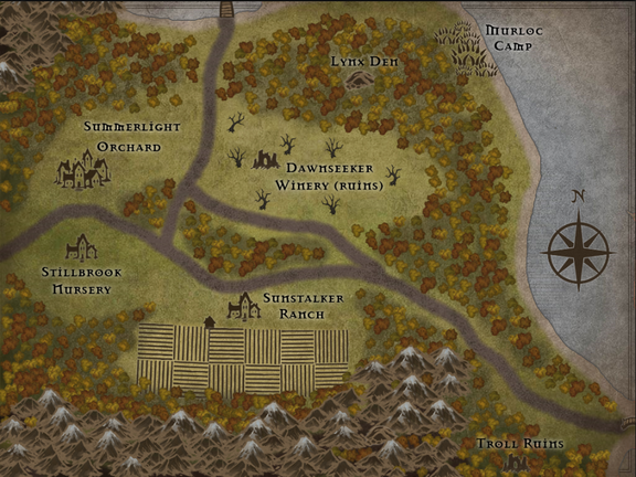 Eversong Forest - The Farms
