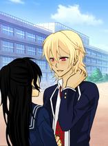 Blake asking Arsinoe out