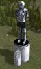 Samantha clarke statue