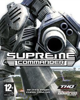 Supreme Commander Box Art