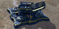 Disruptor Station Experimental Quantum Distortion Artillery